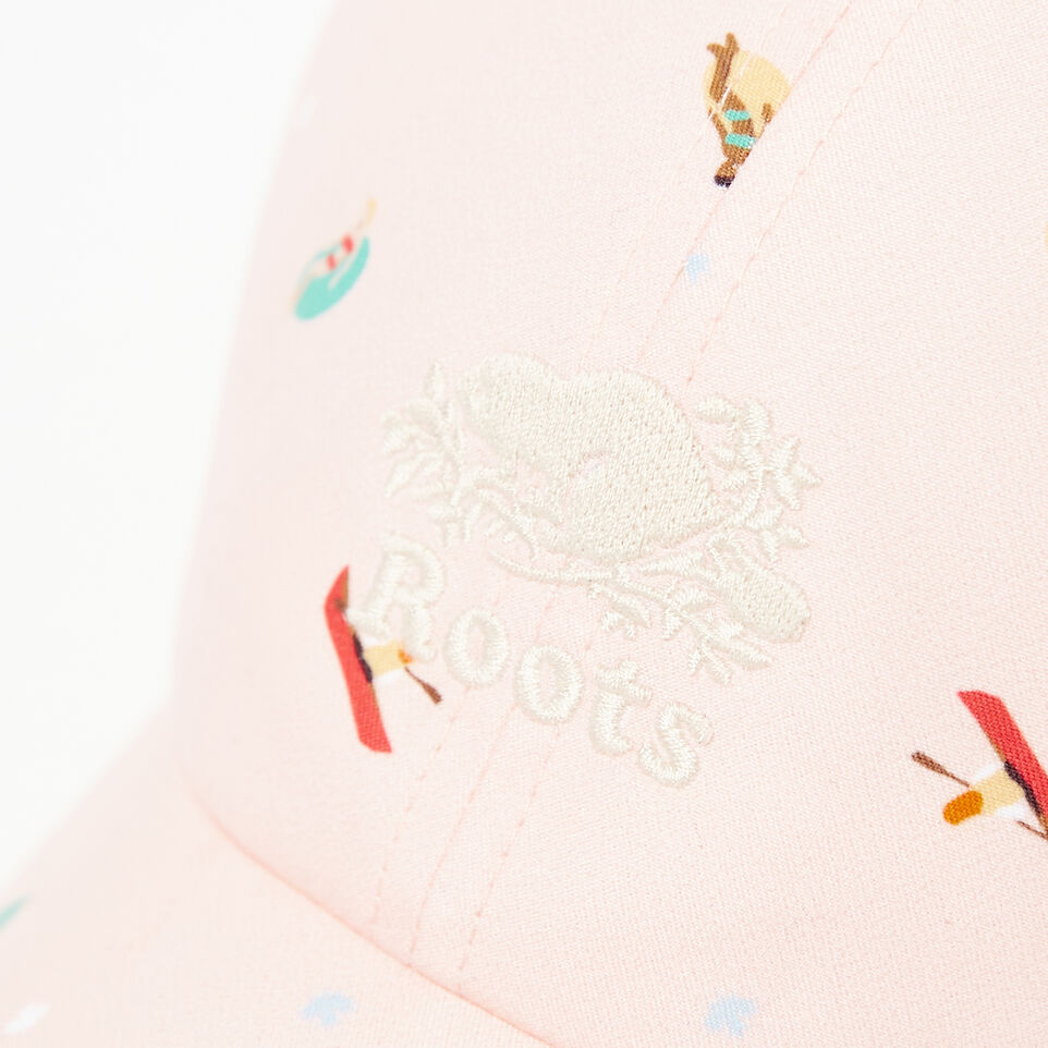 Roots-undefined-Cooper Print Baseball Cap-undefined-E