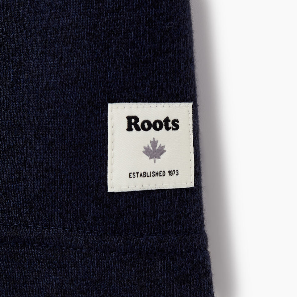 Roots-New For May Men-Mens Cooper Beaver T-shirt-Navy Blazer Pepper-C
