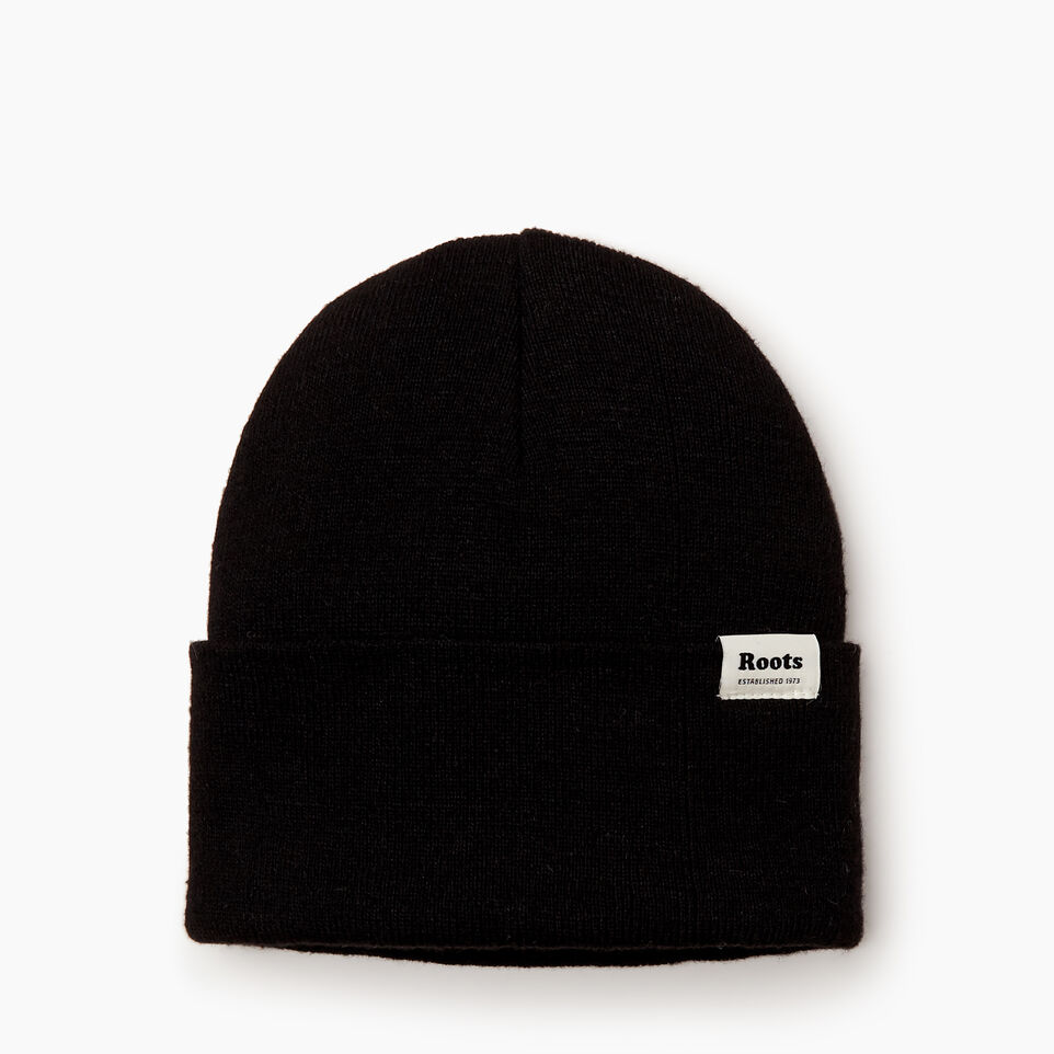 Roots-Women Hats-Bracebridge Toque-Black-B