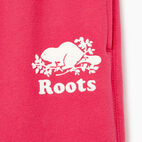 Roots-Kids New Arrivals-Girls Original Roots Sweatpant-Pink Flambé-D