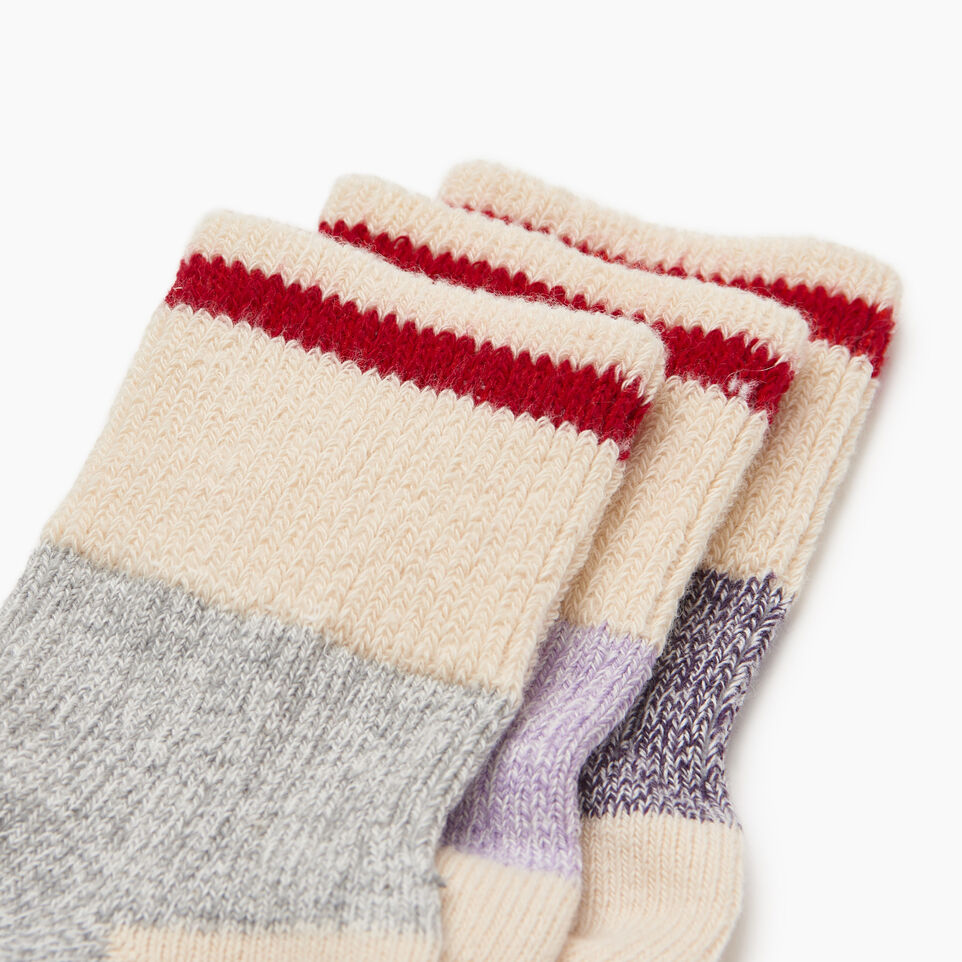 Roots-Kids Our Favourite New Arrivals-Kids Cotton Cabin Ankle Sock-Purple-C