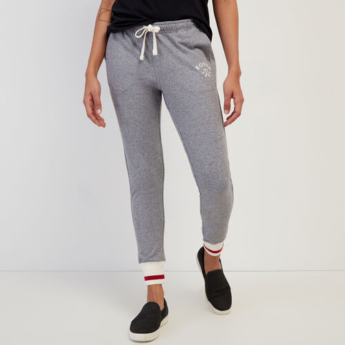Roots-Women Bestsellers-Cabin Sweatpant-Light Salt & Pepper-A