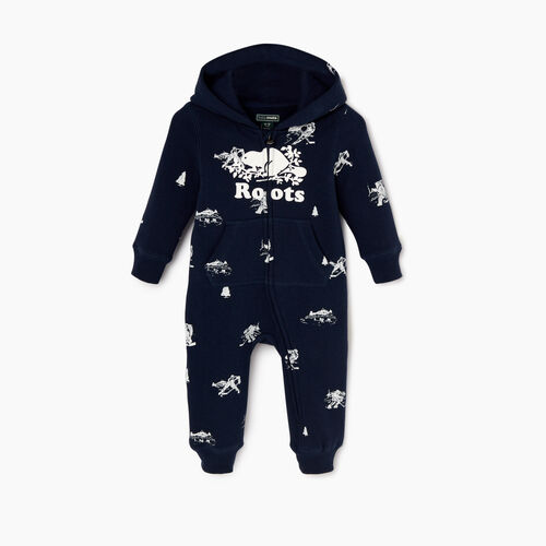 Roots-Kids Our Favourite New Arrivals-Baby Hockey Aop Romper-Navy Blazer-A
