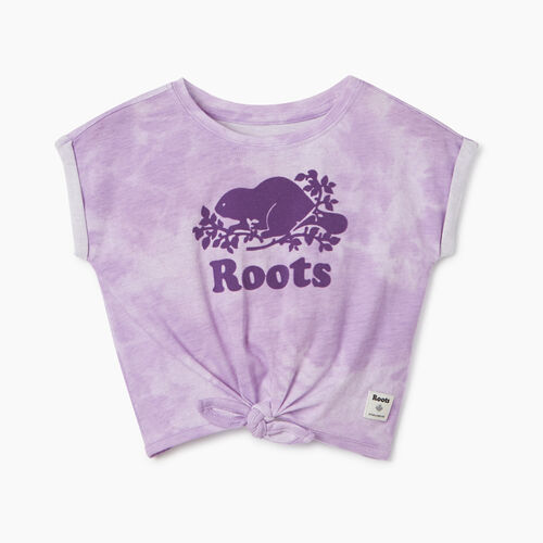 Roots-Kids T-shirts-Baby Tie T-shirt-African Violet-A
