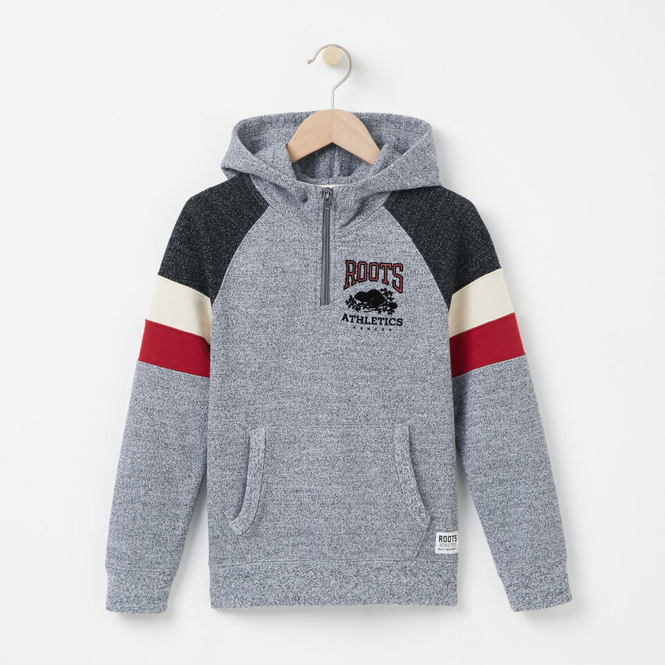 Roots-undefined-Boys Colour Block 1/2 Zip Hoody-undefined-A