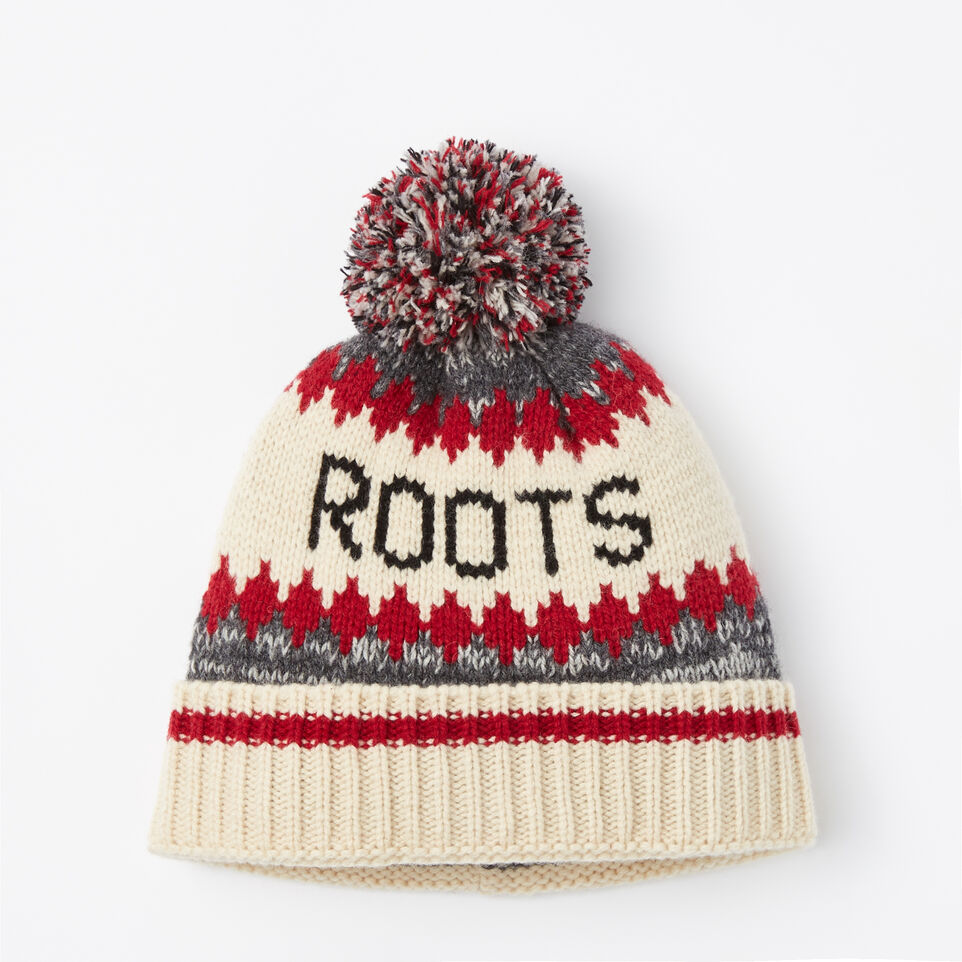 Roots-undefined-Roots Cabin Pom Pom Toque-undefined-A