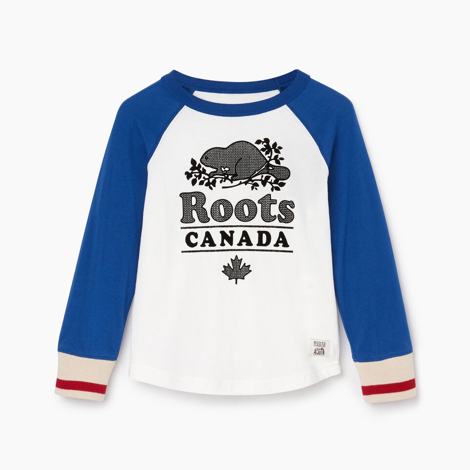 Roots-undefined-Toddler Cabin Baseball T-shirt-undefined-A