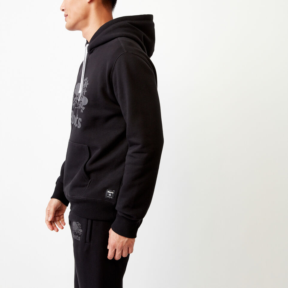 Roots-Men Our Favourite New Arrivals-Cooper Reflect Hoody-Black-C