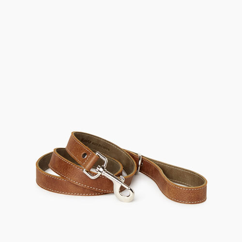 Roots-New For January Dog Accessories-Leather Dog Leash-Natural-A