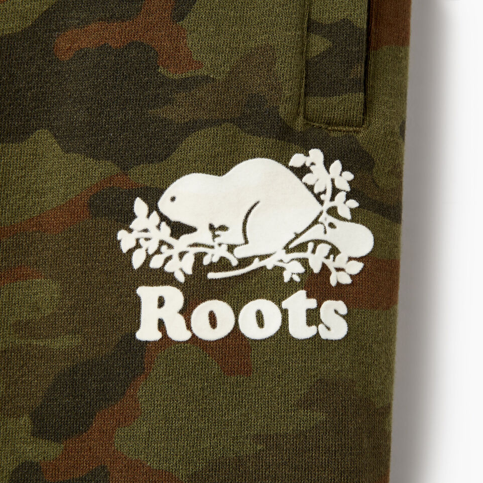 Roots-Kids New Arrivals-Boys Camo Sweatpant-Winter Moss Green-D