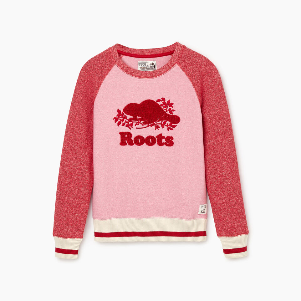 Roots-undefined-Girls Roots Cabin Cozy Sweatshirt-undefined-A