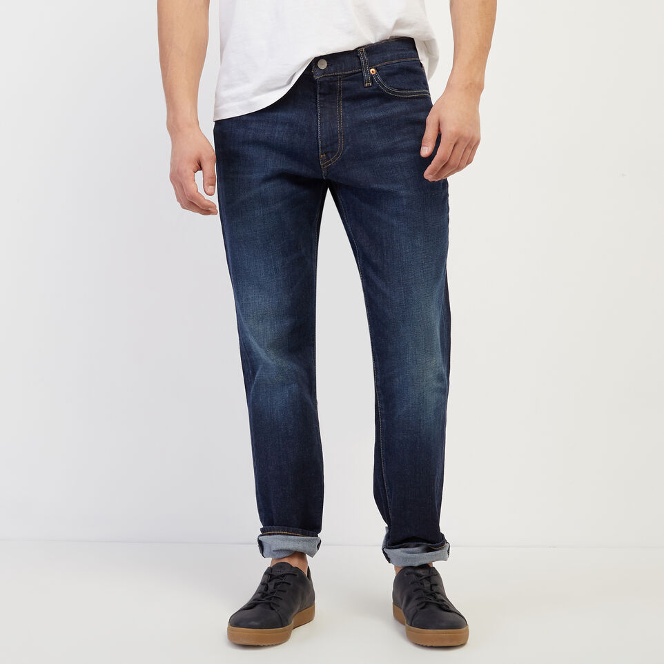 Roots-New For April Levi's-Levi's 511 Slim Fit 34-Denim Blue-A