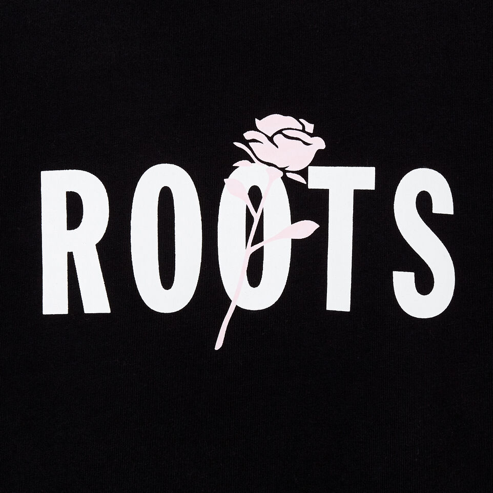 Roots-undefined-Roots x Shawn Mendes Womens  Black T- Shirt-undefined-D