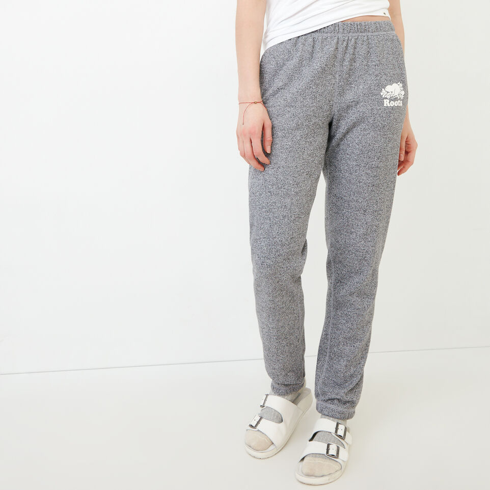 Roots-Sweats Sweatsuit Sets-Roots Salt and Pepper Original Sweatpant - Regular-Salt & Pepper-A