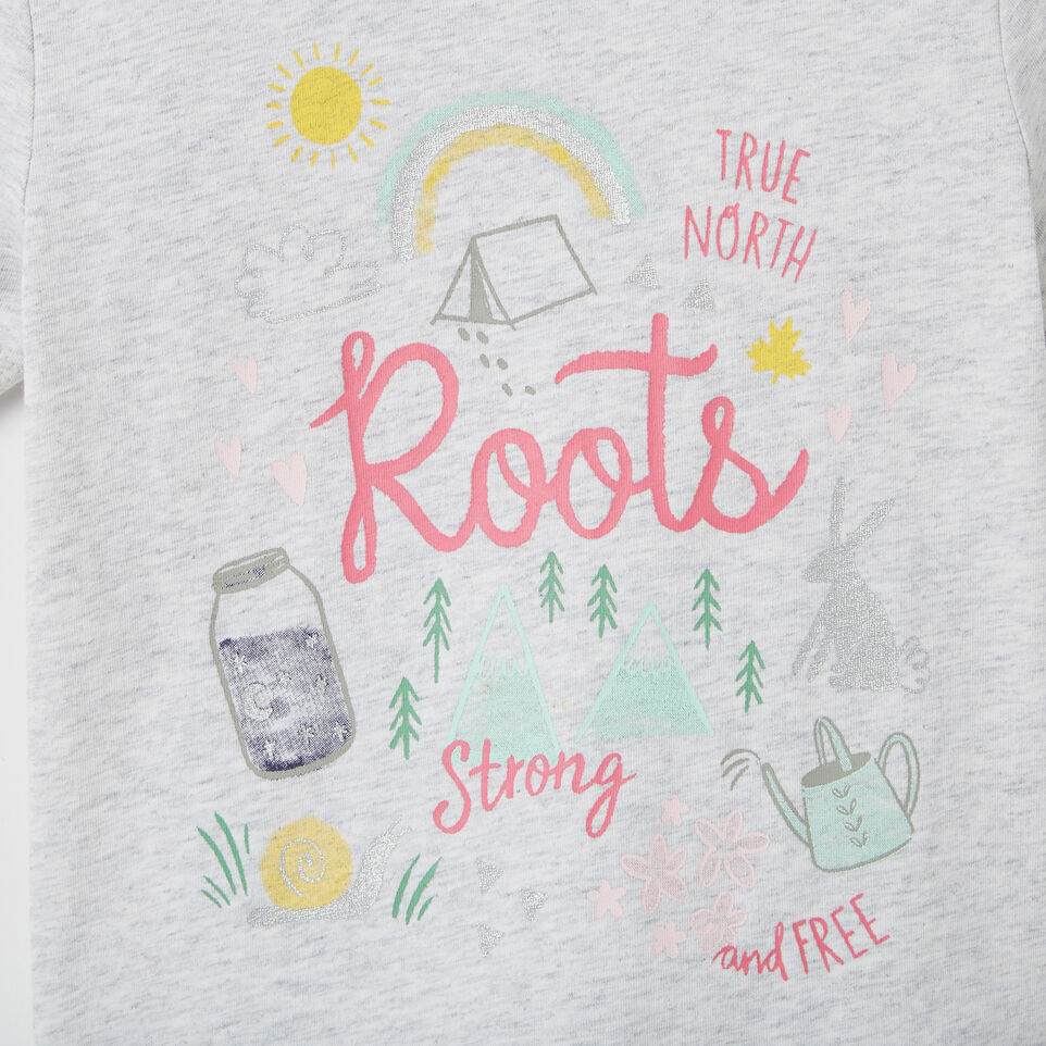 Roots-undefined-Toddler Glow-in-the-dark T-shirt-undefined-D