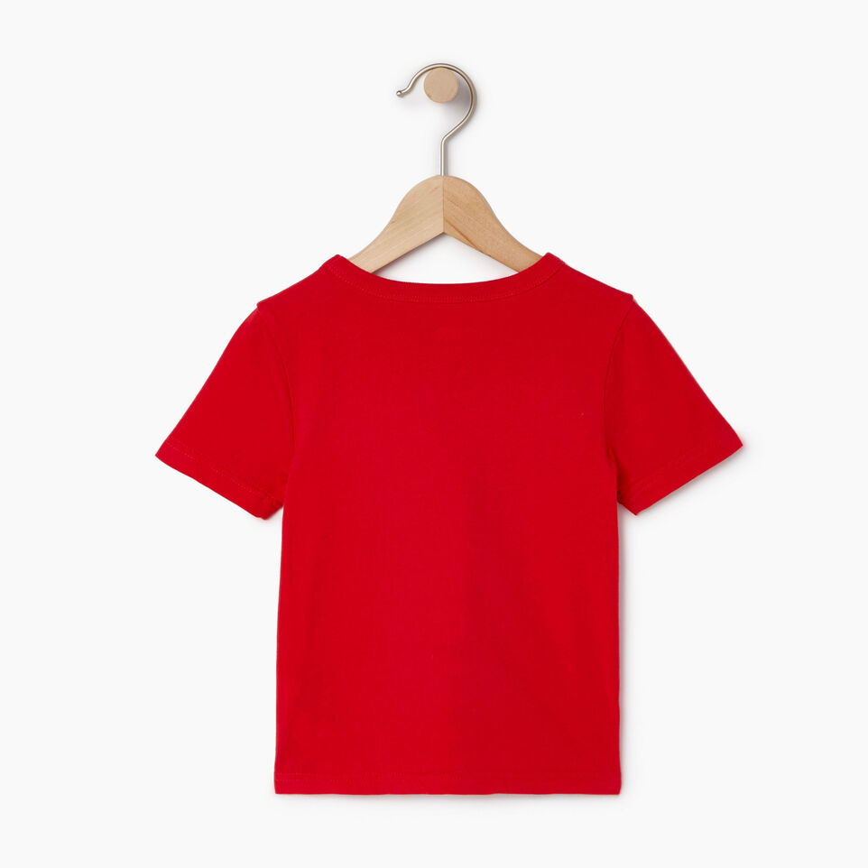 Roots-Kids Our Favourite New Arrivals-Toddler Cooper Beach Stripe T-shirt-Racing Red-B