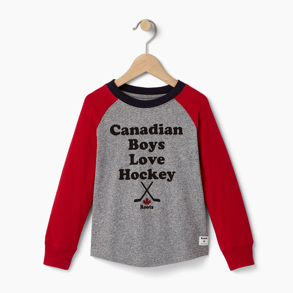 Roots-undefined-T-shirt Hockey pour tout-petits-undefined-A