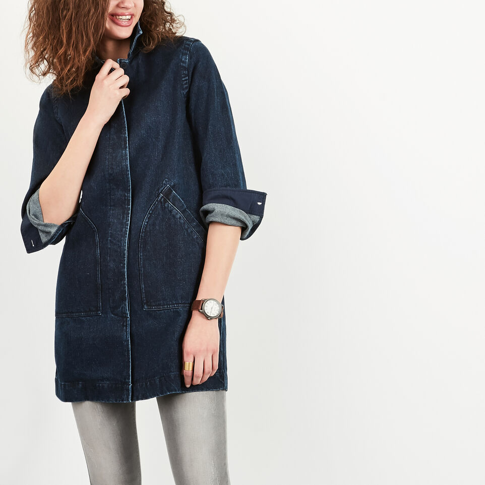 Roots-undefined-Denim Drafting Coat-undefined-B