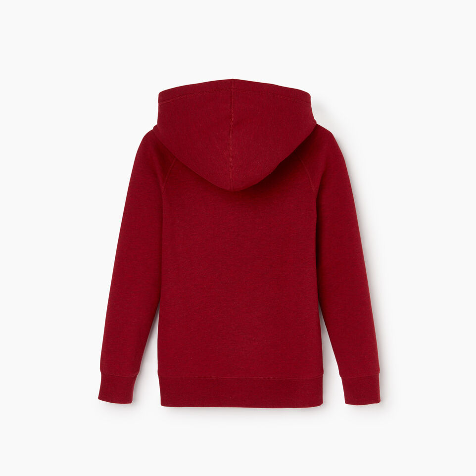 Roots-Kids Boys-Boys Laurel Hoody-Cabin Red Mix-C