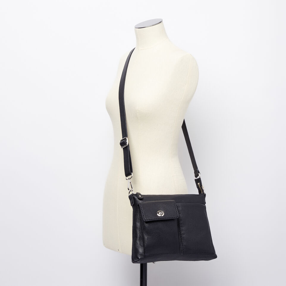 Roots-Leather Handbags-The Villager Prince-Black-B