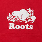 Roots-New For July Men-Mens Blazon T-shirt-Sage Red-E