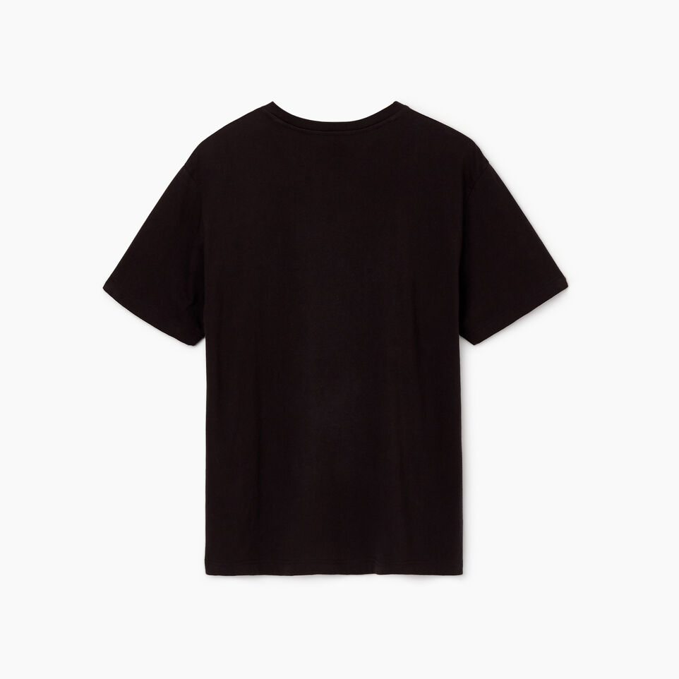 Roots-undefined-Mens Cooper Script T-shirt-undefined-B