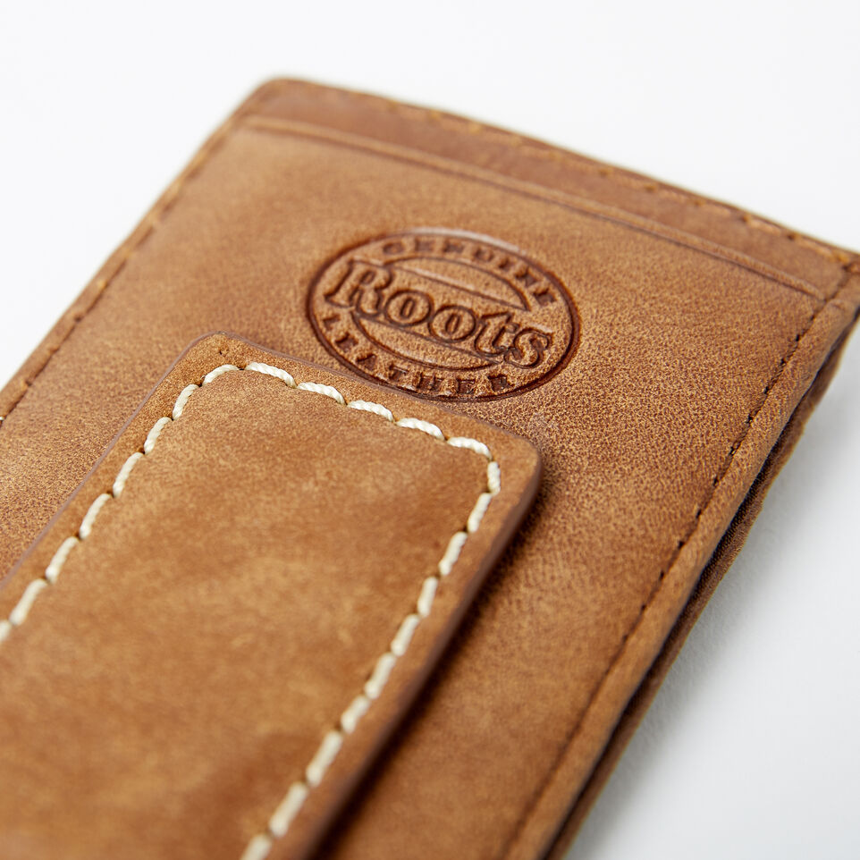 Roots-undefined-Money Clip With Slots Tribe-undefined-E