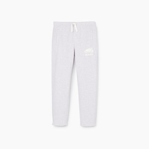 Roots-Kids New Arrivals-Girls Easy Ankle Sweatpant-Wisteria Mix-A