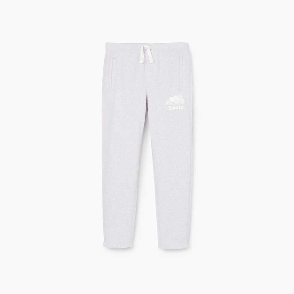 Roots-Sale Kids-Girls Easy Ankle Sweatpant-Wisteria Mix-A
