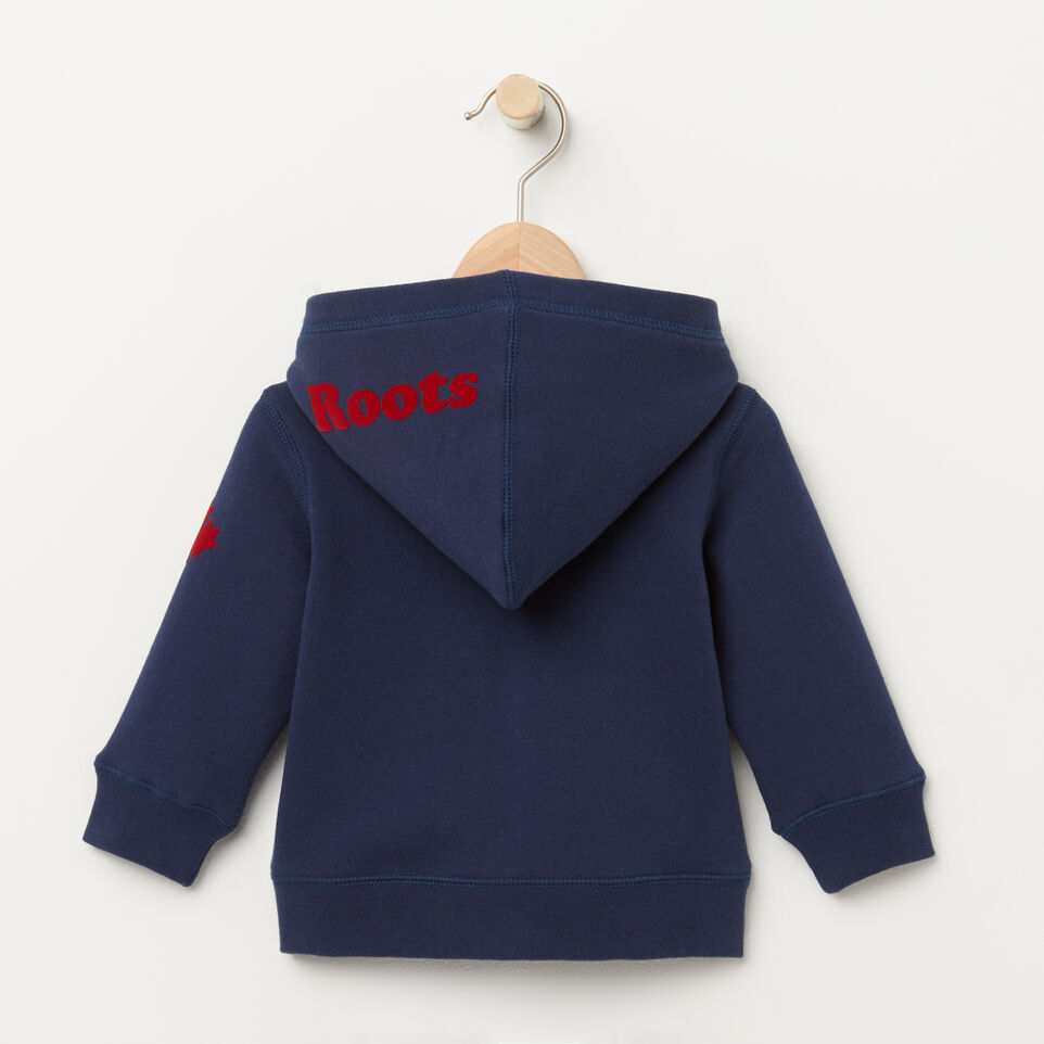 Roots-undefined-Baby Canada Full Zip Hoody-undefined-B