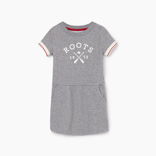Roots-Kids New Arrivals-Toddler Cabin Dress-Light Salt & Pepper-A