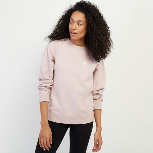 Roots-Women Categories-Boyfriend Crew Sweatshirt-Burnished Lilac-A