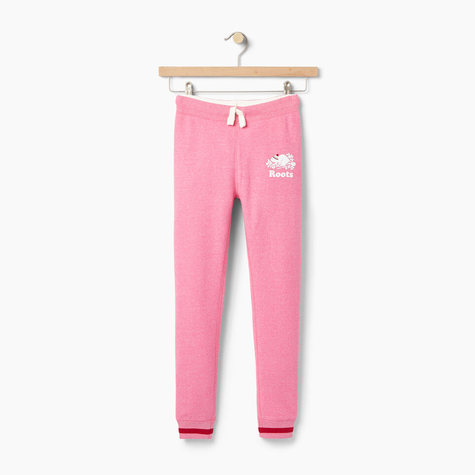 Roots-undefined-Girls Buddy Cozy Fleece Sweatpant-undefined-A