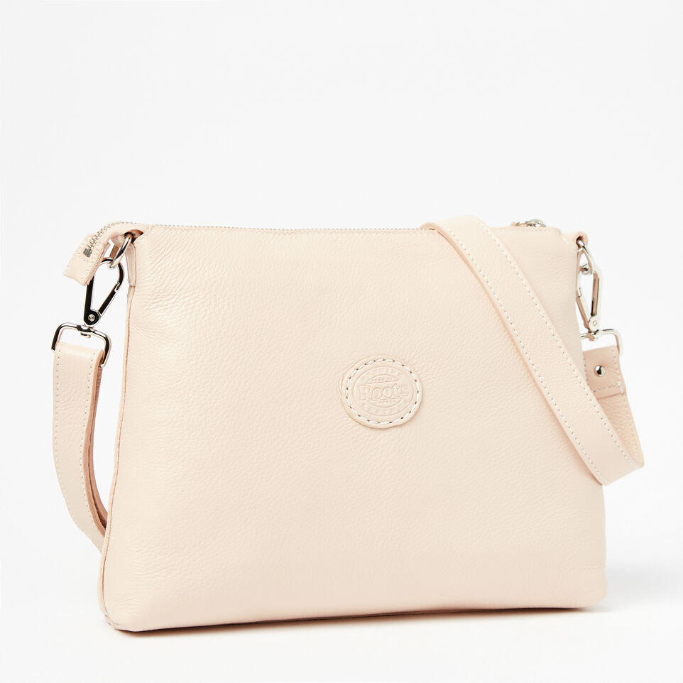 Roots-Clearance Leather-The Villager Prince-Blush-C
