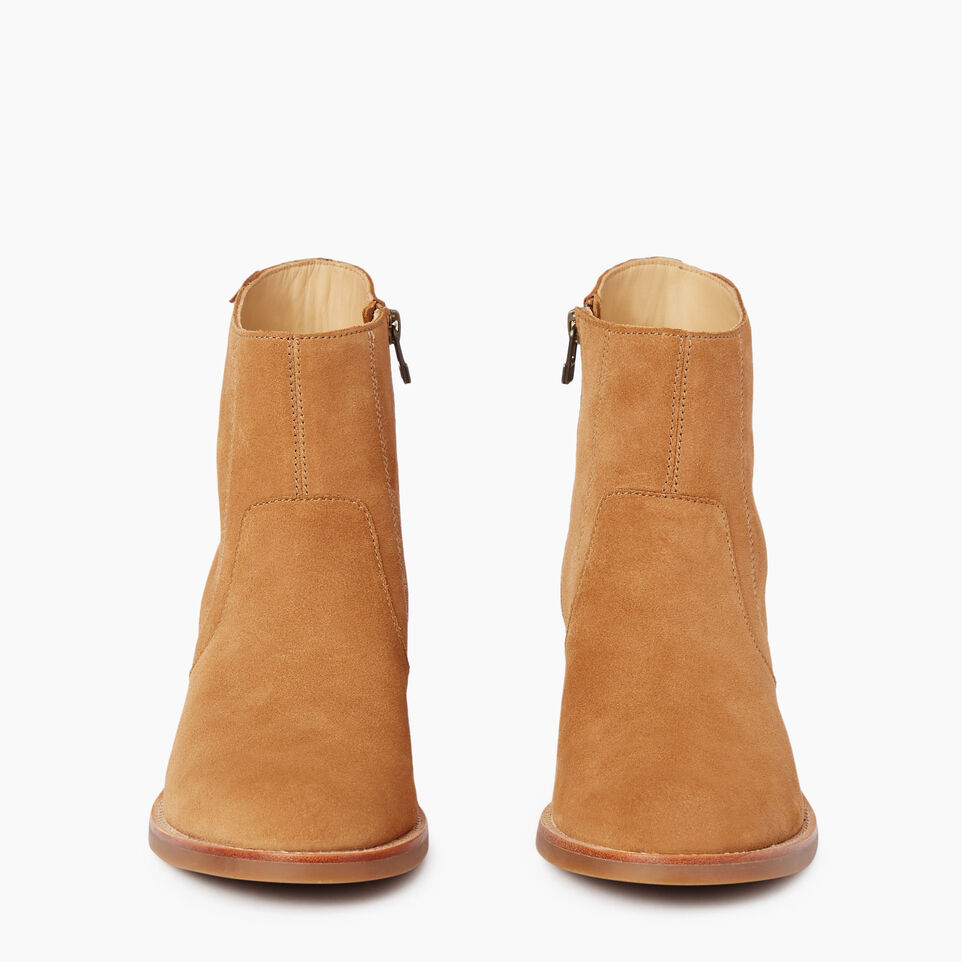 Roots-Women Clothing-Womens Liberty Boot Suede-Caramel-D