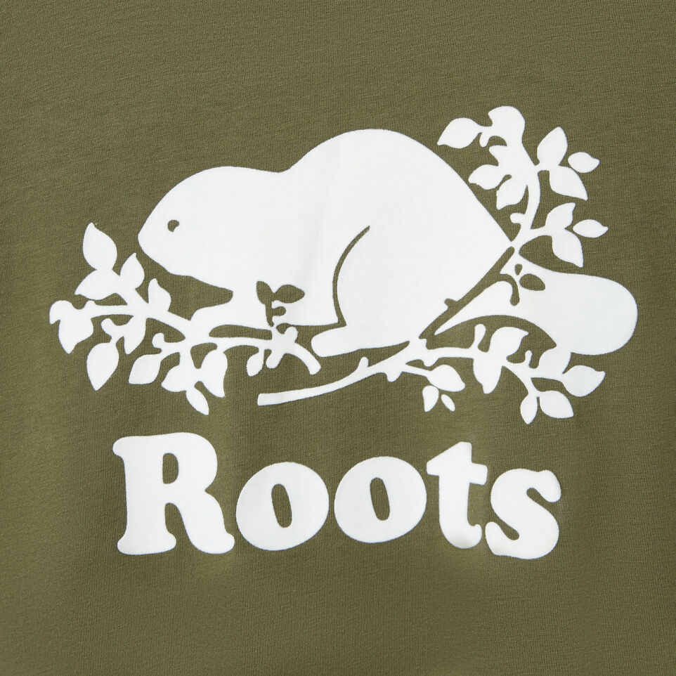 Roots-New For March Daily Offer-Womens Cooper Beaver T-shirt-Lichen-D