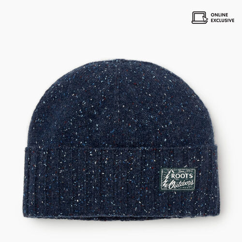 Roots-Men Accessories-Burnaby Toque-Navy Mix-A