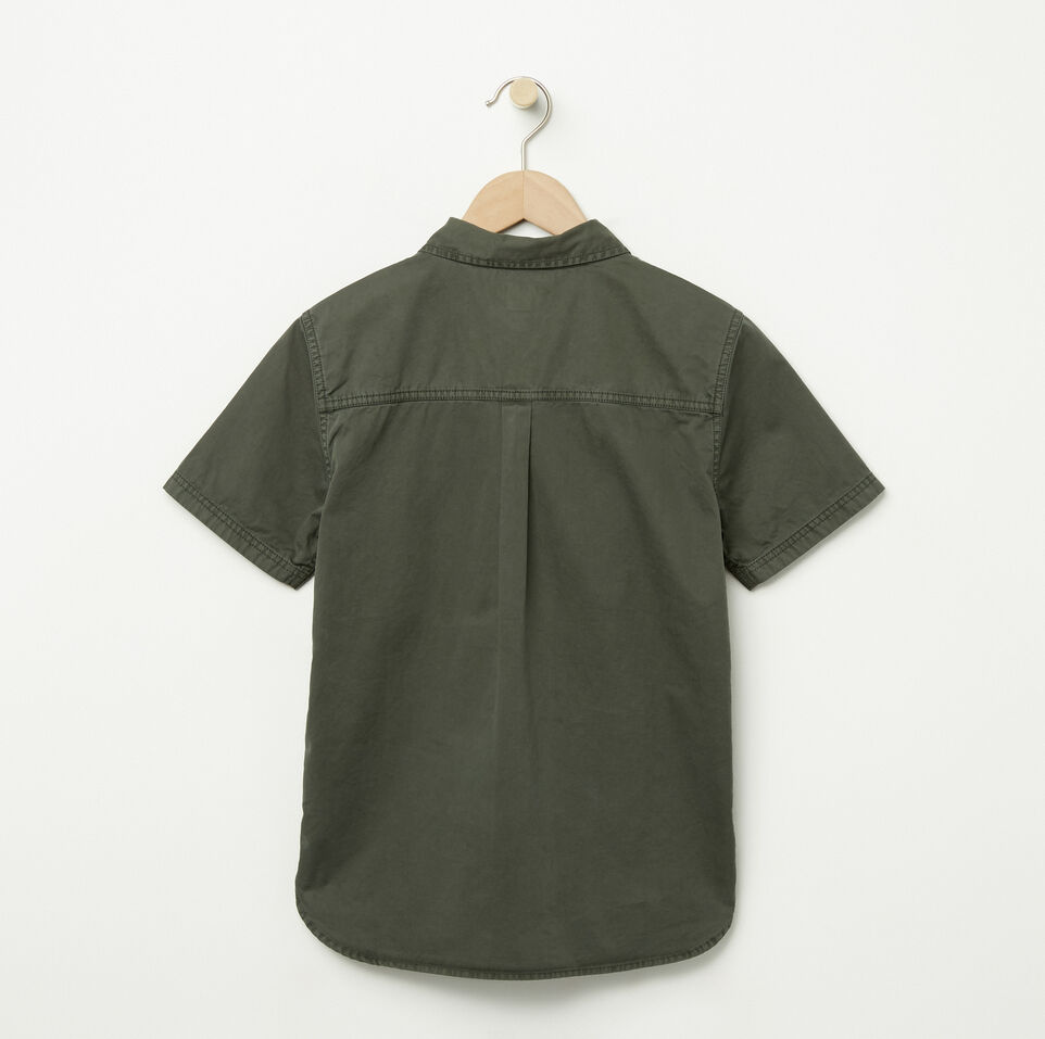 Roots-undefined-Boys Twill Utility Shirt-undefined-B