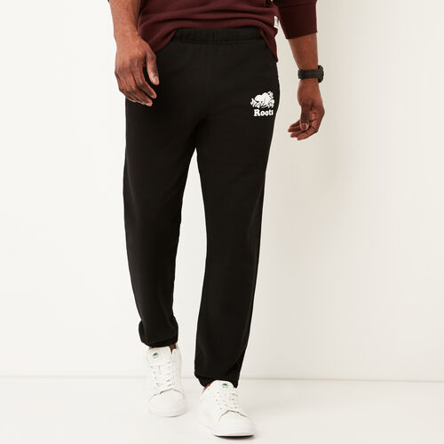 Roots-Men Original Sweatpants-Original Sweatpant-Black-A