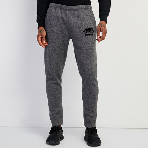 Roots-Men New Arrivals-Original Park Slim Sweatpant-Charcoal Pepper-A