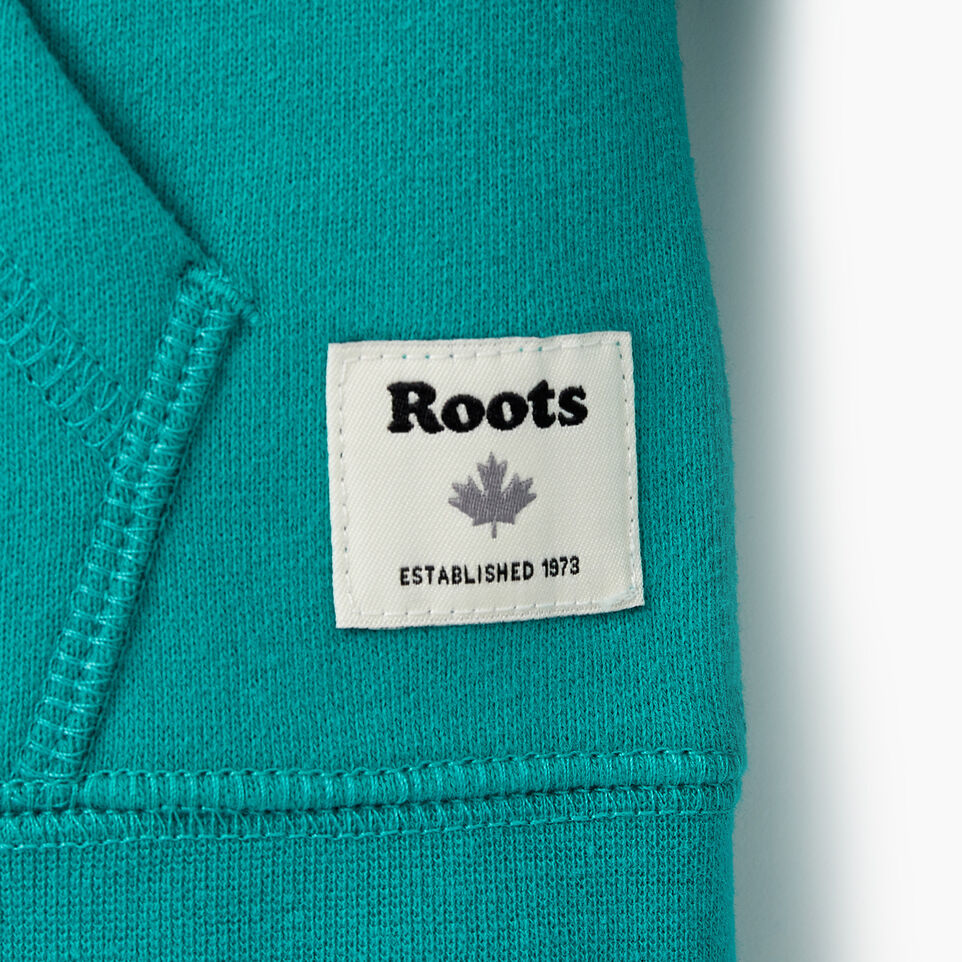 Roots-Kids New Arrivals-Girls Original Full Zip Hoody-Dynasty Turquoise-D