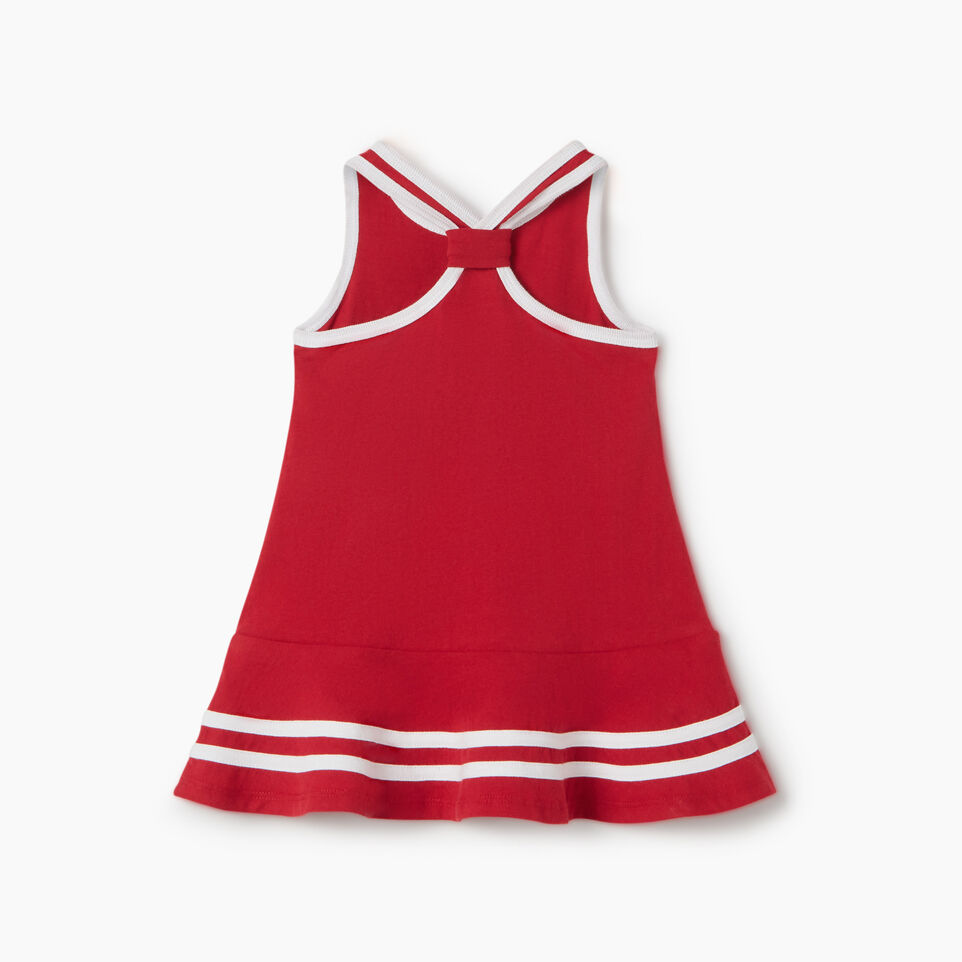 Roots-Kids New Arrivals-Baby Canada Tank Dress-Sage Red-B