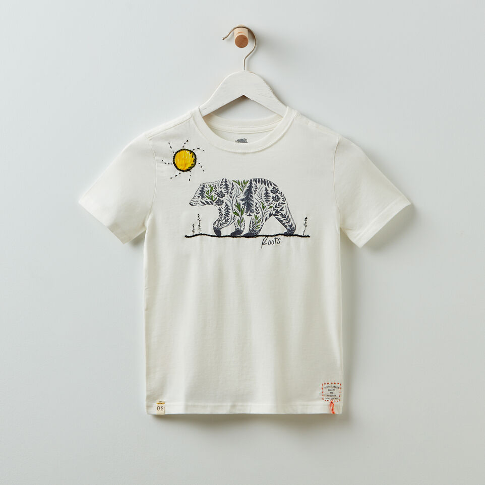 Roots-undefined-Roots x Billy Bamboo Organic T-shirt - Kids-undefined-A