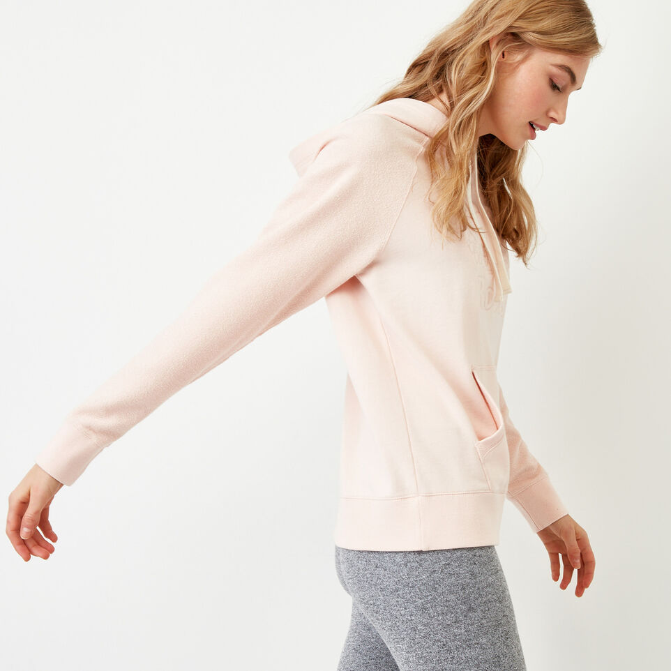 Roots-Women Our Favourite New Arrivals-Weymouth Hoody-Veiled Rose-C