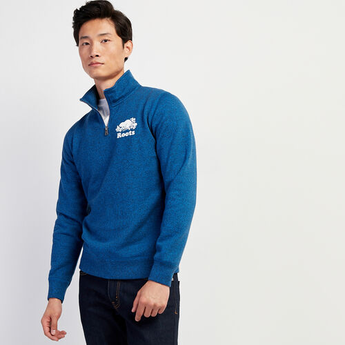 Roots-Men New Arrivals-Original Zip Stein-Classic Blue Pepper-A