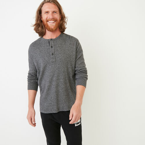 Roots-Men Bestsellers-Killarney Pepper Henley-Charcoal Pepper-A