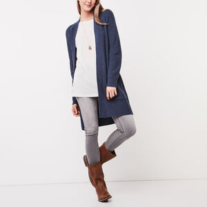 Roots-Sale Women-Nova Cardigan-Vintage Indigo Mix-A