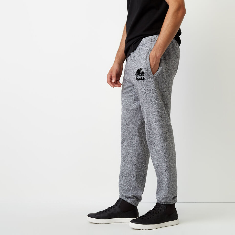 Roots-undefined-Roots Salt and Pepper Original Sweatpant - Short-undefined-C