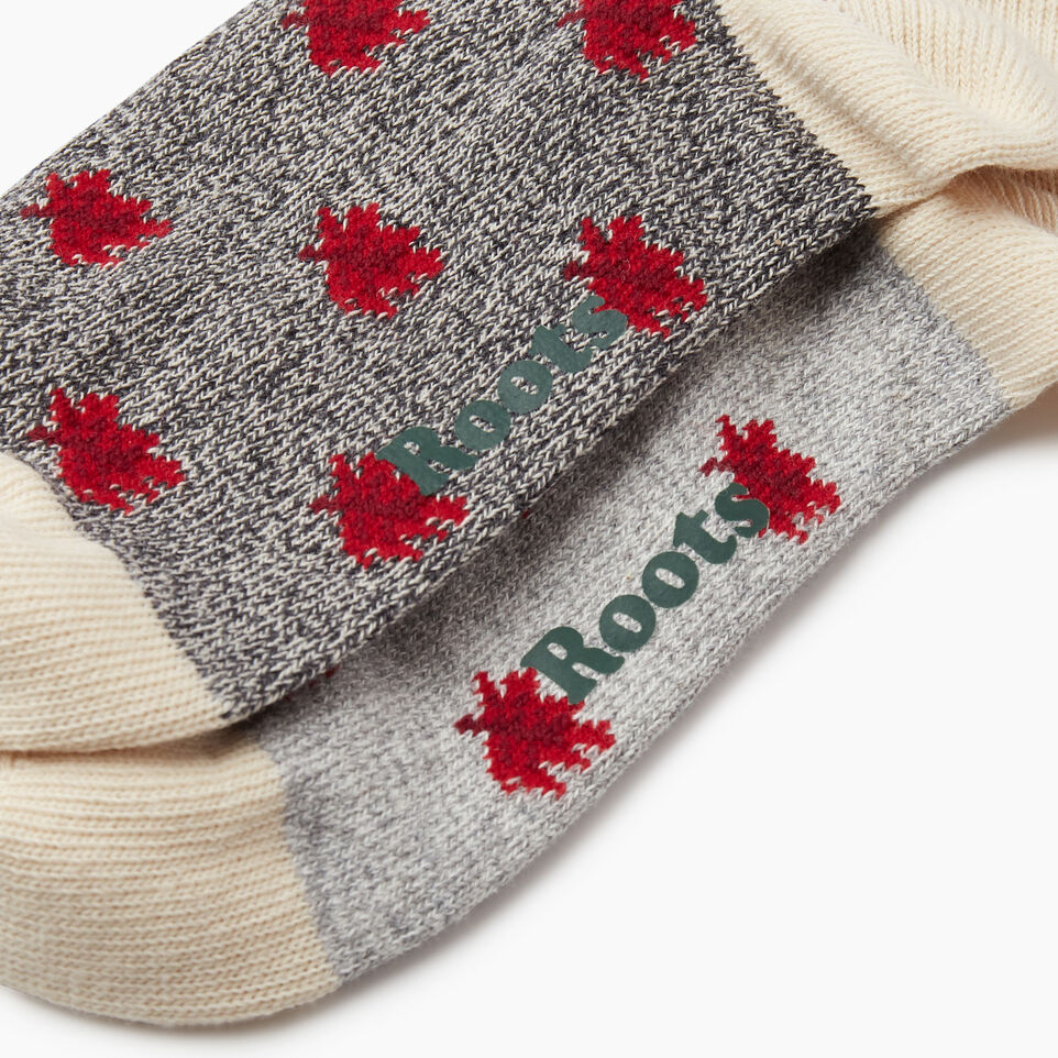 Roots-undefined-Maple Cabin Ankle Sock 2 pack-undefined-D