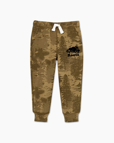 Roots-Kids Bottoms-Toddler Outdoors Slim Sweatpant-Multi-A